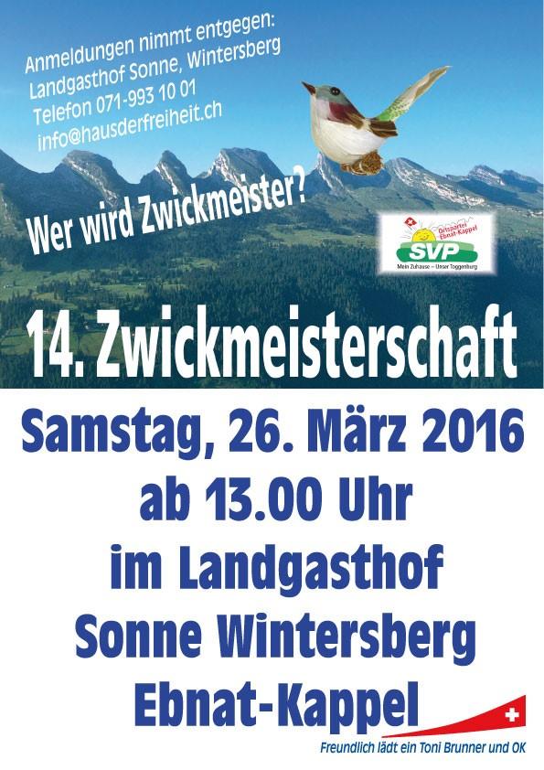 Zwickmeisterschat 2016