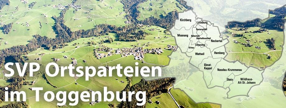 SVP Ortsparteien im Toggenburg