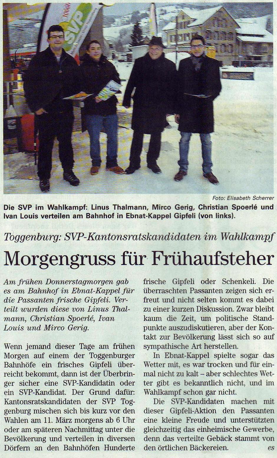 Morgengruss für Frühaufsteher (Freitag, 17.02.2012)